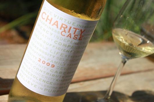 Charity Case Sauvignon Blanc by Jayson Woodbridge