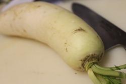Big radish aka Daikon