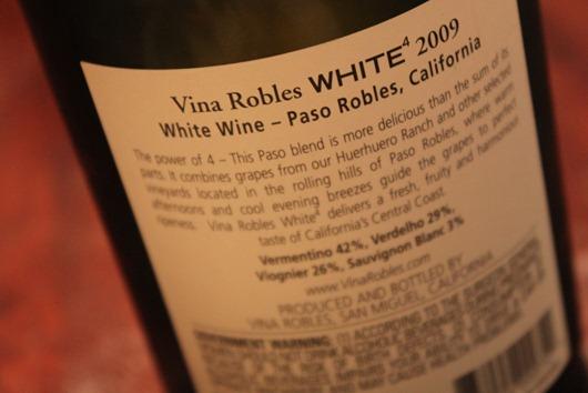 Vina Robles White Blend 2009