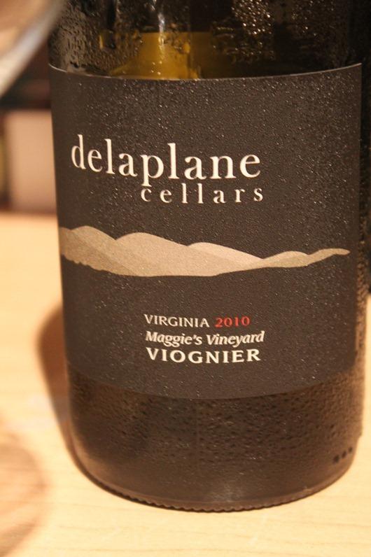 Delaplane Cellars Maggie's Vineyard Viognier