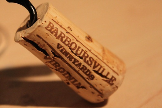 Barboursville Vineyards Cork
