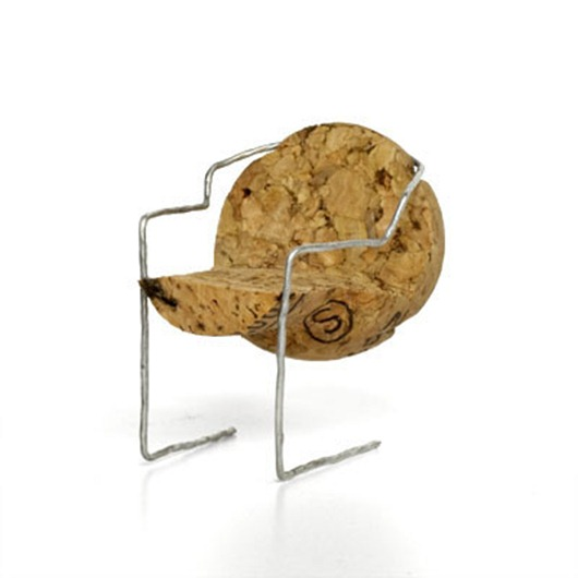 Amazing Champagne Cork Chairs.
