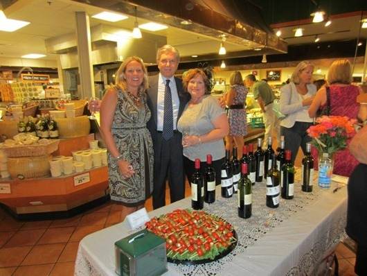 Fresh Market Wine Tasting to Benefit Juvenile Diabetes Research Foundation.