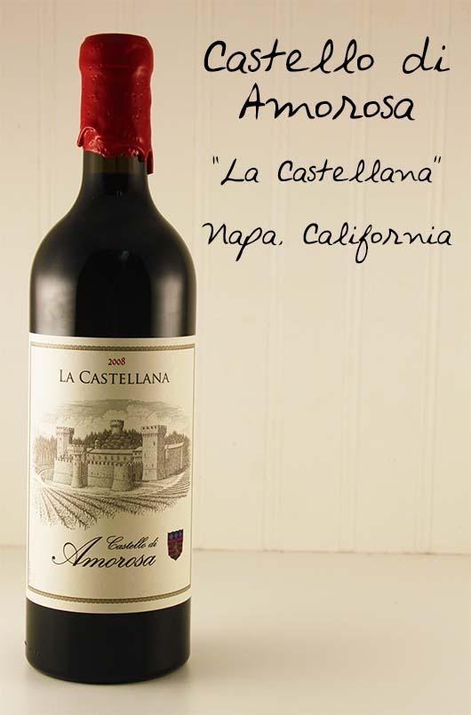 """Castello di Amorosa """"La Castellana"""" Napa Valley, California."""