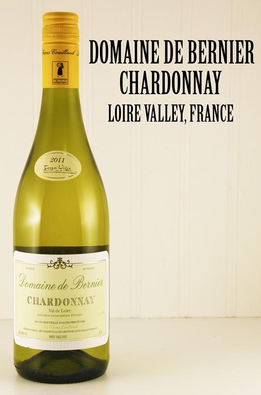 Domaine de Bernier Chardonnay, Loire Valley, France.