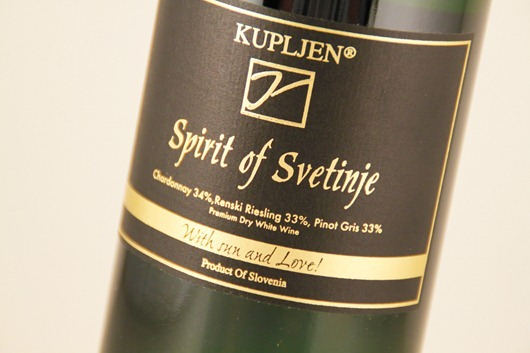 "Kupljen ""Spirit of Svetinje"" White Wine Blend, Slovenia."