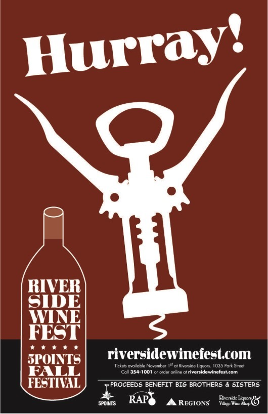 The 11th Annual Riverside WineFest & 5 Points Fall Festival