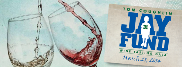 Tom Coughlin Jay Fund Foundation Wine Tasting Gala