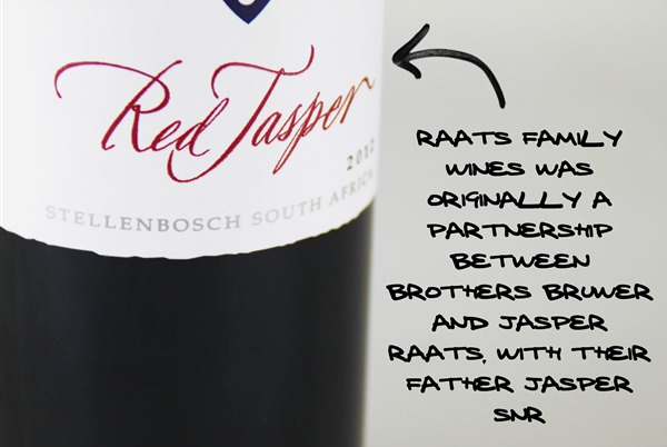 Raats Red Jasper Stellenbosch, South Africa
